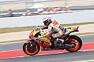 Маркес стал быстрейшим в третьей тренировке, Yamaha провалилась