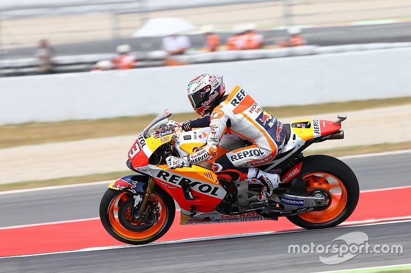 MotoGP 2017 in Barcelona: Marc Marquez weiter vorne, Desaster für Yamaha