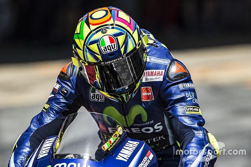 Mengapa hanya finis kedelapan, Rossi?