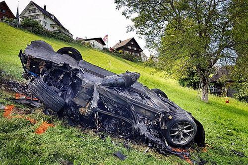 Hammond crash happened after hillclimb's finish line