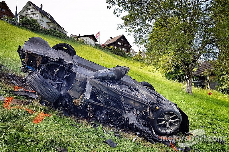 Swiss hillclimb organisers fined over fiery Hammond crash