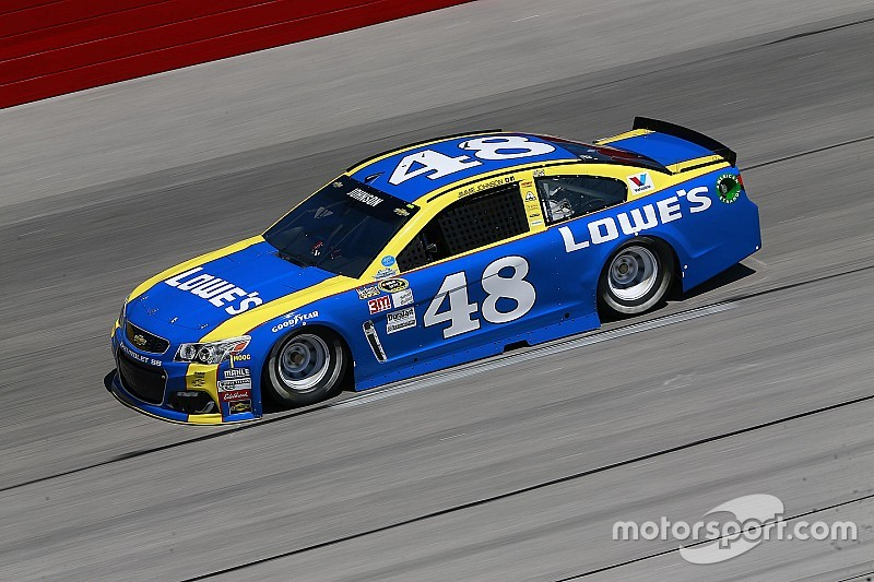Jimmie Johnson tops opening Southern 500 practice at Darlington