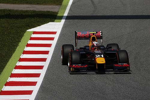 Barcelona GP2: Gasly beats Nato for first pole of 2016