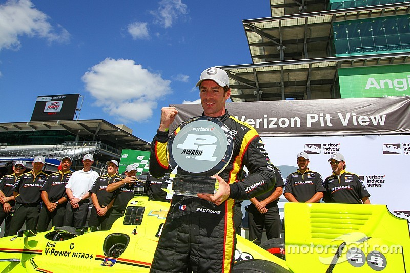 Pagenaud on pole again as title rivals slip badly