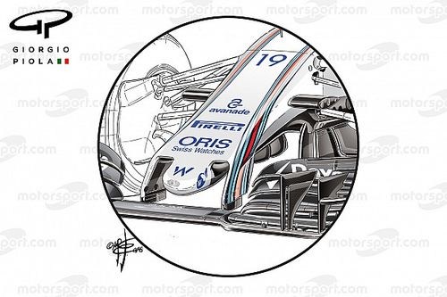 Williams: Bottas non utilizza il muso ultra corto