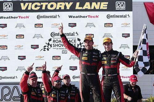 Action Express 1-2, Corvette take shock win in GTLM