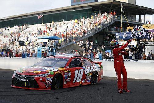 Kyle Busch makes NASCAR history with Brickyard 400 win