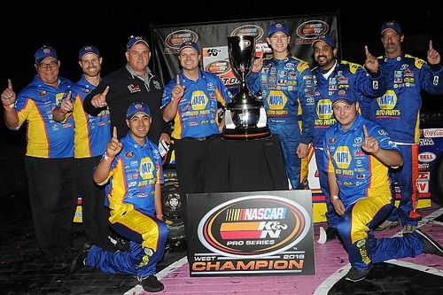 Fresh off first NASCAR title, Todd Gilliland to compete for two more in 2017