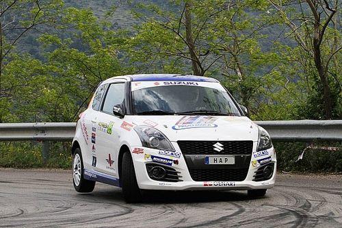 Suzuki Rally Cup: Peloso e Rivia si giocano la vetta alla Marca