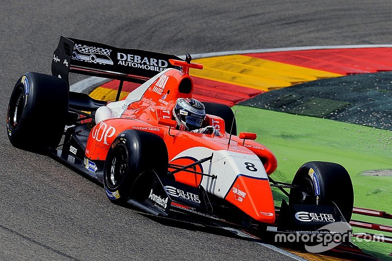 Aragon F3.5: Panis overhauls Dillmann for maiden win