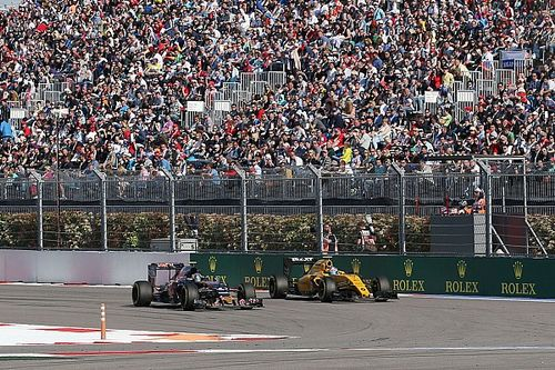 """Sainz: Strict Sochi penalty means """"you cannot race anyone"""""""
