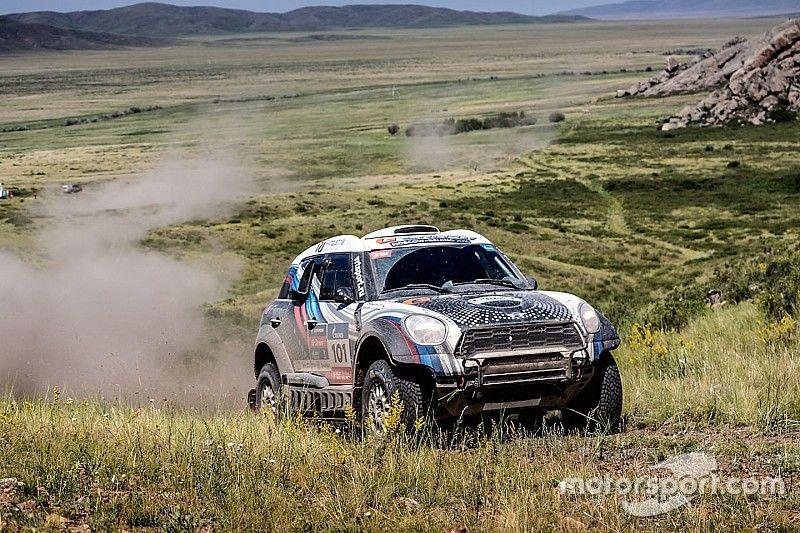 Silk Way Rally: Successful half-time balance for the MINI ALL4 Racing