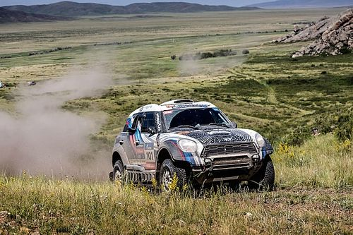 Silk Way Rally: Successful half-time balance for the MINI ALL4 Racing
