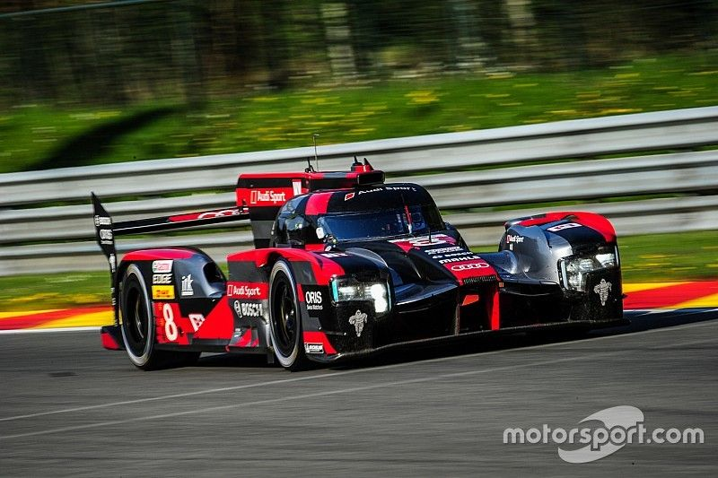 Audi celebrates first WEC victory this season at Spa