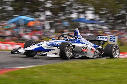 Mid-Ohio Indy Lights: Kirkwood wins Race 1, has one hand on title