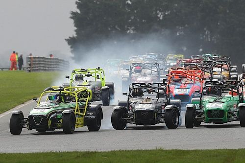 The Caterham king on a mission to conquer one-make national racing