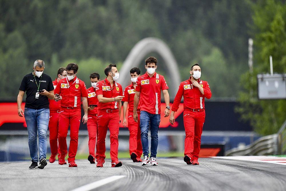 Leclerc wierzy w Ferrari