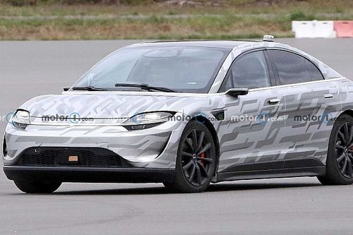 Sony Vision S concept spied testing, but no production car