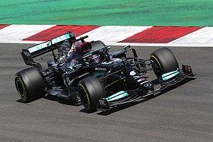 F1ポルトガルGP決勝:ハミルトン、勝負強さ見せつける1勝。フェルスタッペン及ばず2位、角田は15位無得点
