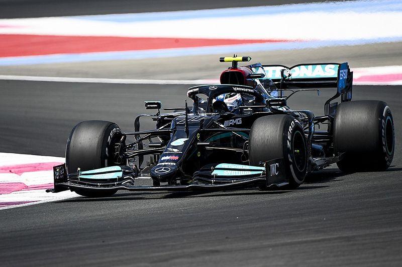 French GP: Bottas leads Mercedes 1-2 ahead of Verstappen in FP1