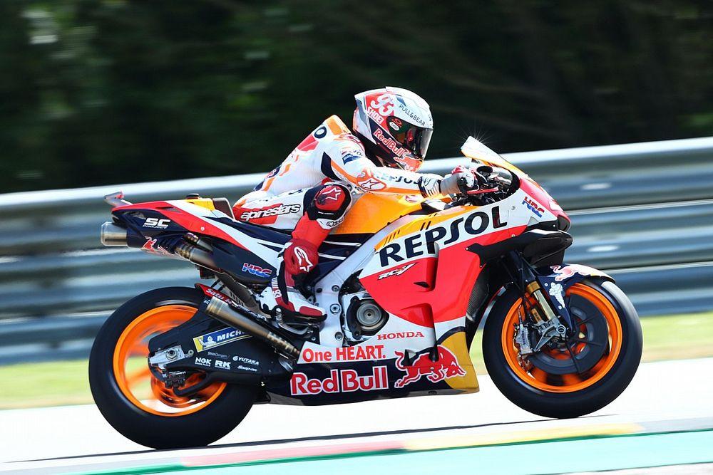 MotoGP, Germania, Libere 1: Marquez al top, cade Quartararo