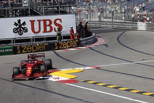 Leclerc fears gearbox damage after 'big surprise' pole in Monaco