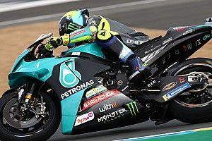"""Rossi negende na gok op slicks: """"Was te voorzichtig"""""""