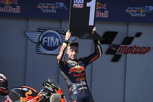 Jerez Moto3: KTM rookie Acosta scores third straight win