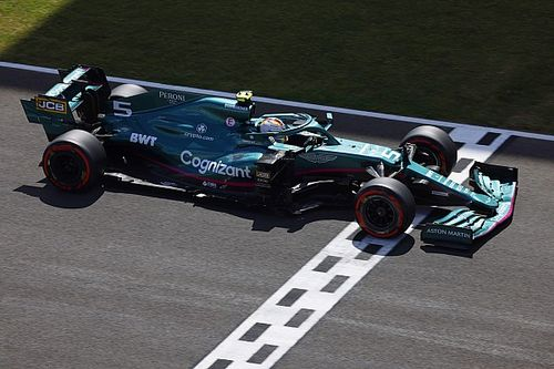 Aston Martin geeft in Spanje ook Vettel upgrades