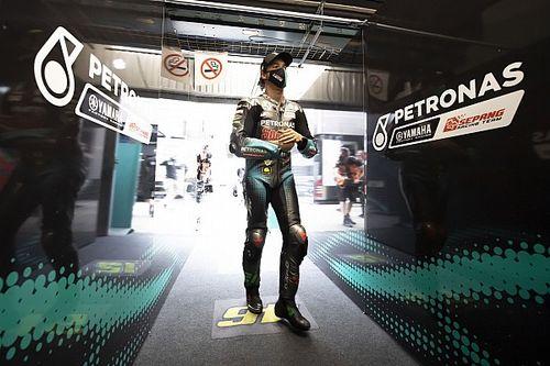 Le team Petronas n'attend pas un retour de Morbidelli avant Misano