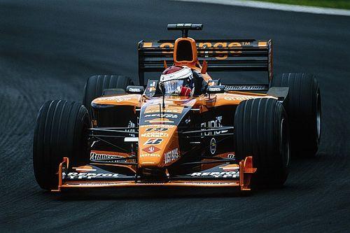Arrows F1-auto van Jos Verstappen te koop aangeboden