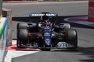 F1アゼルバイジャンFP3速報:アルファタウリ・ホンダのガスリー首位、角田裕毅は8番手