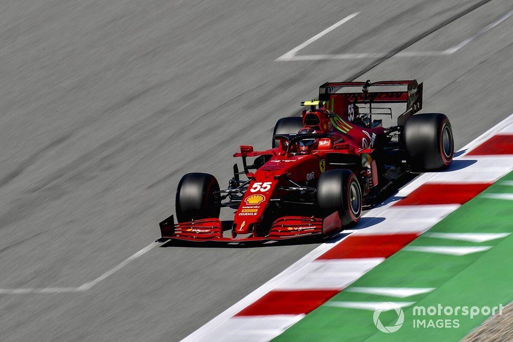 Sainz: Ferrari still worried about tyre degradation in Spain