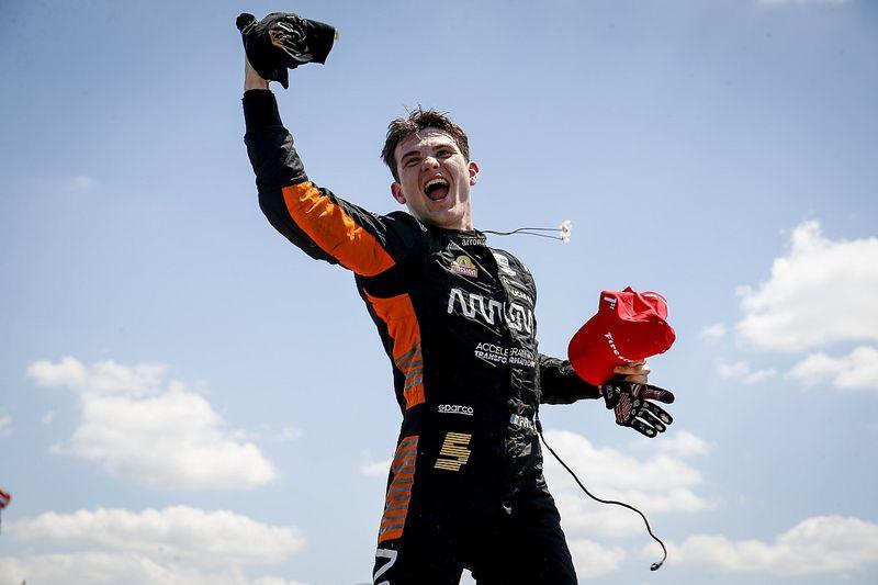 O'Ward gana en Detroit y es líder en IndyCar