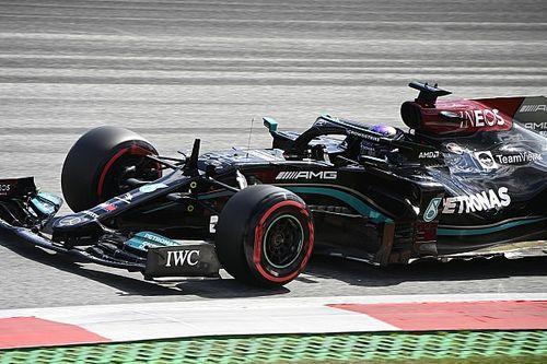 Hamilton perdait 6 à 7 dixièmes par tour en Autriche à cause des dégâts