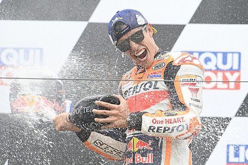 """MotoGP: Márquez diz que vitória na Alemanha """"compensa o sofrimento"""""""