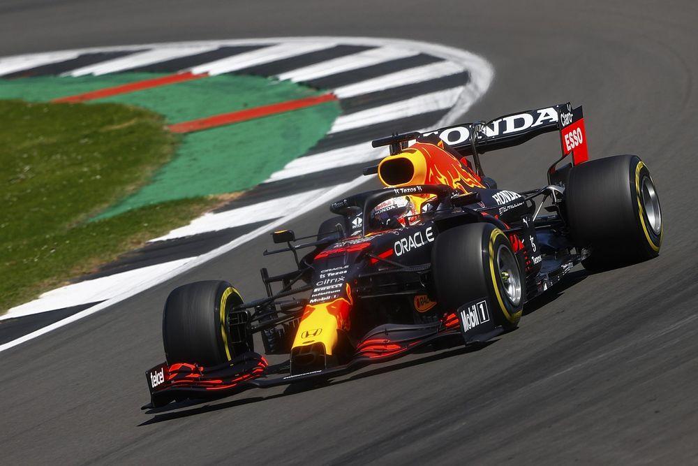 Verstappen bovenaan in tweede training Britse Grand Prix