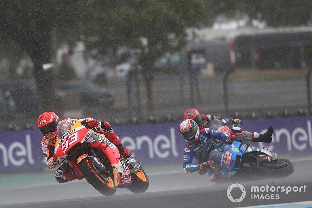 """Márquez: """"Me he planteado más de una vez bajarme de la moto"""""""