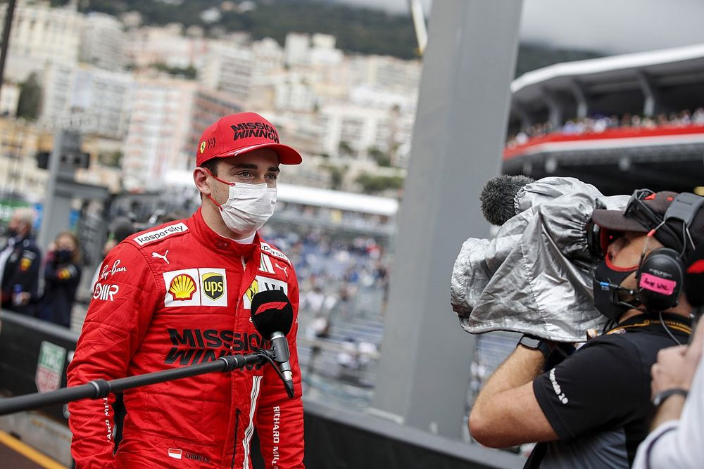 Leclerc: Failing to start in Monaco 'difficult to take'