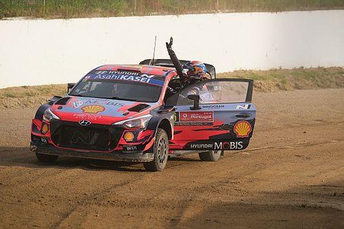 Босс Hyundai матом приказал пилоту выиграть Ралли Португалия