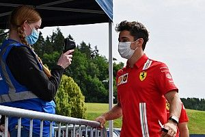 """Leclerc: """"Ho provato la Ferrari 2022 al simulatore"""""""