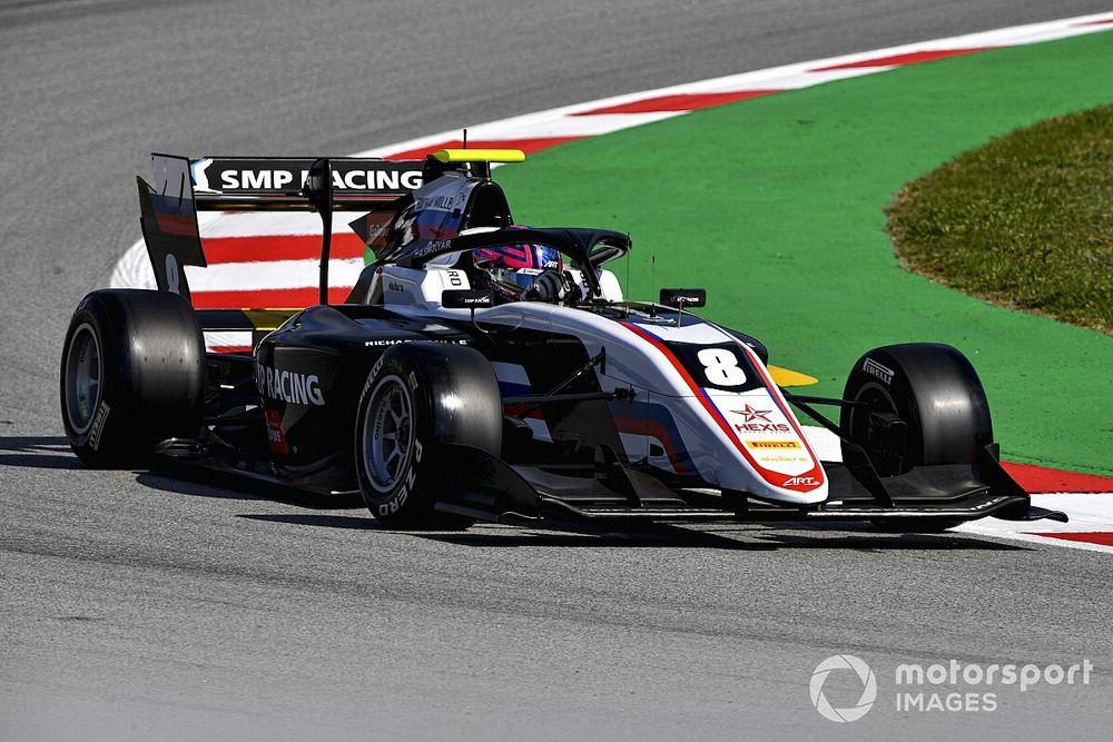 F3, Barcellona, Gara 1: Smolyar ringrazia la safety car