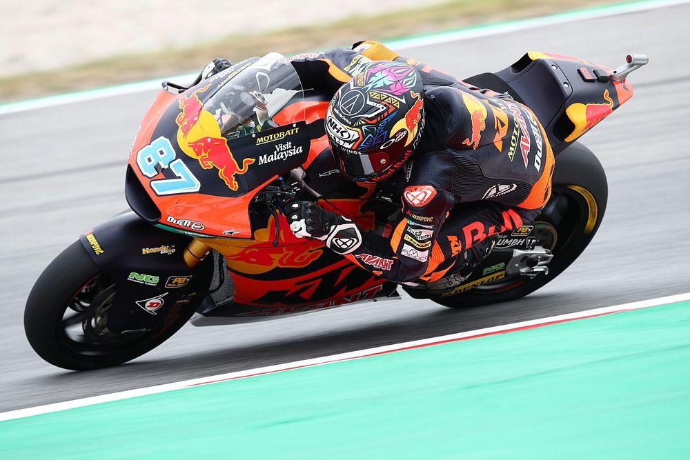 Moto2 Barselona sıralama turları: Gardner, Raul Fernandez'in önünde pole pozisyonunda