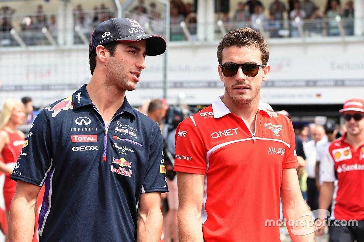 """Ricciardo : """"La mort de Jules m'a affecté plus que je ne l'aurais imaginé"""""""