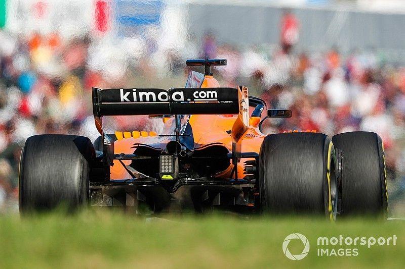 McLaren, conservador con sus neumáticos para el GP de Estados Unidos
