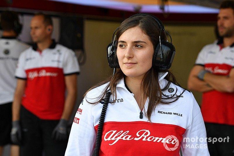 """Para Susie Wolff, Tatiana Calderón """"es muy capaz"""" y quisiera verla en la F1"""