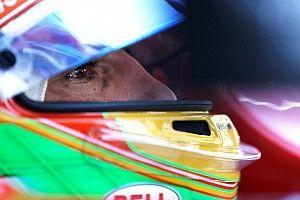 Roberto Merhi, en los test de Fórmula 2 en Bahrein