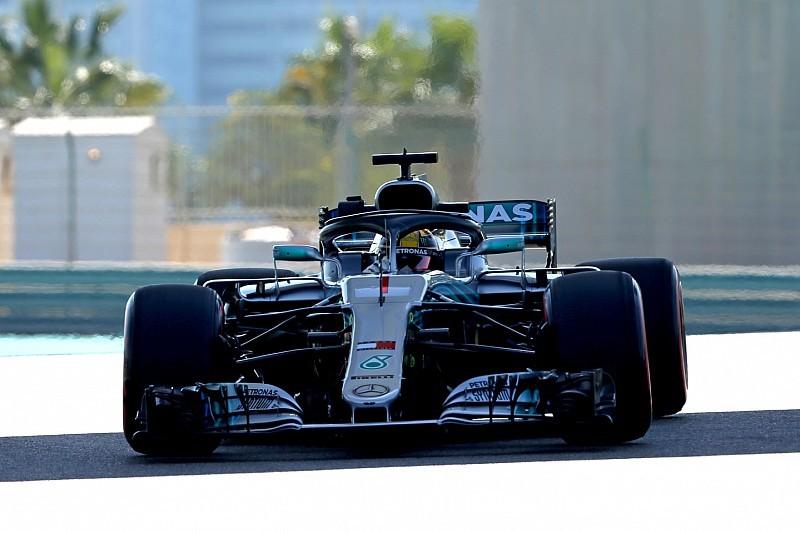 Hamilton aan kop in derde training Abu Dhabi, P4 Verstappen