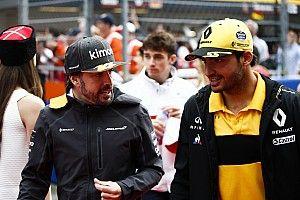 ساينز يعترف بأنّ خروج ألونسو درسٌ للفورمولا واحد