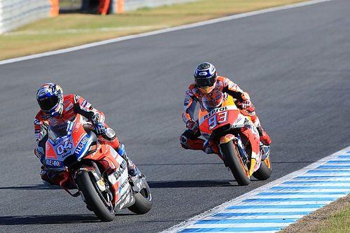 """Marquez says he """"provoked"""" Dovizioso's Motegi crash"""